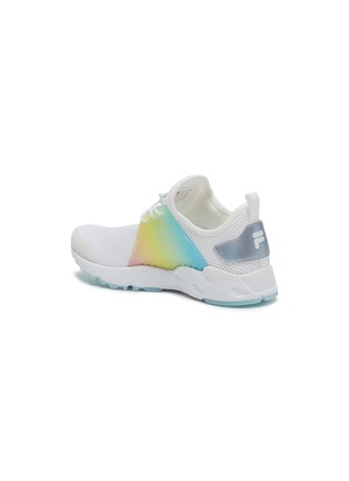 Detail View - Click To Enlarge - FILA - Rainbow panel perforated mesh kids sneakers
