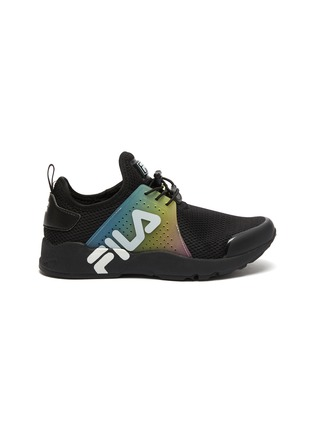 Main View - Click To Enlarge - FILA - Rainbow panel perforated mesh kids sneakers