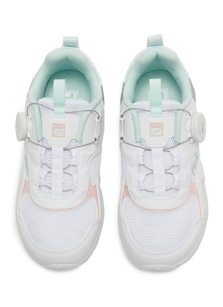 Figure View - Click To Enlarge - FILA - Panelled leather toddler sneakers