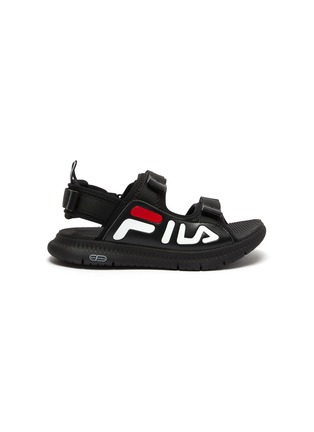 Main View - Click To Enlarge - FILA - Logo print kids sandals