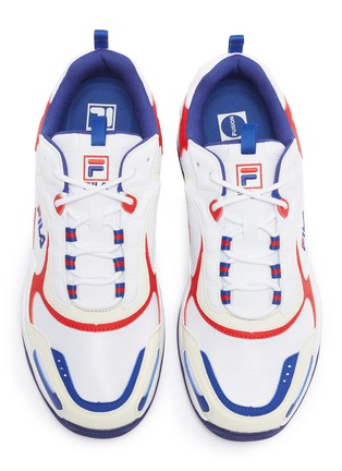 Detail View - Click To Enlarge - FILA - 'Luminance' chunky outsole panelled sneakers