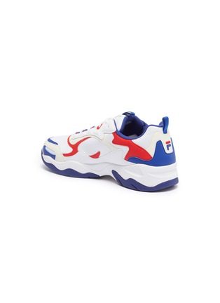 - FILA - 'Luminance' chunky outsole panelled sneakers