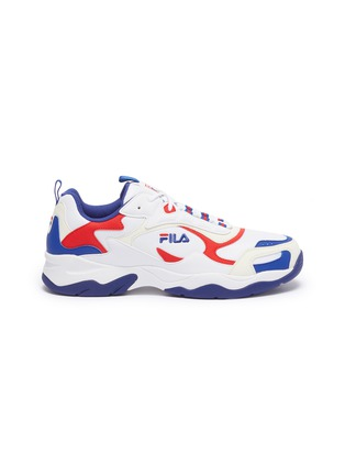 Main View - Click To Enlarge - FILA - 'Luminance' chunky outsole panelled sneakers