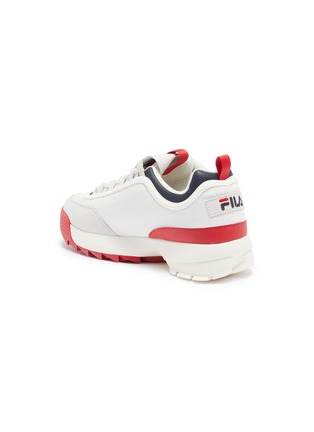 - FILA - 'Disruptor II Lite' chunky outsole panelled sneakers
