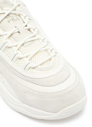 Detail View - Click To Enlarge - FILA - 'Ray' chunky outsole panelled sneakers