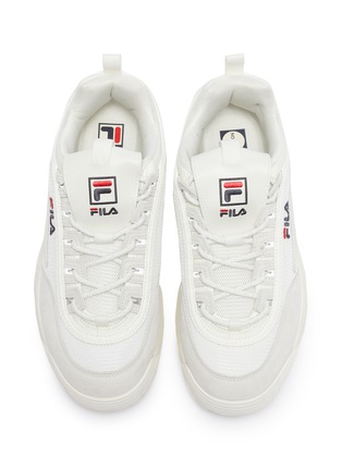 Detail View - Click To Enlarge - FILA - 'Disruptor II Lite' chunky outsole panelled sneakers