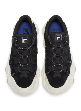Detail View - Click To Enlarge - FILA - 'Jagger' chunky outsole panelled sneakers