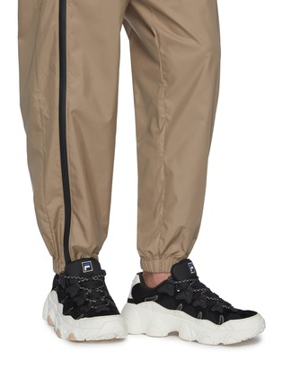 Figure View - Click To Enlarge - FILA - 'Jagger' chunky outsole panelled sneakers