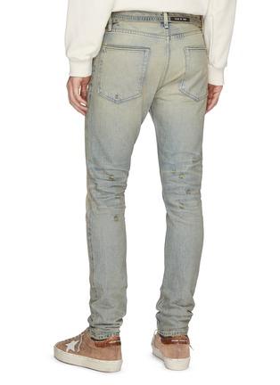 Back View - Click To Enlarge - FEAR OF GOD - 'Vintage' Slim Fit Jeans