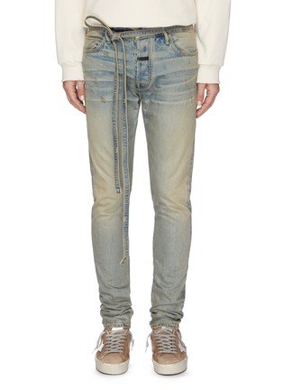 Main View - Click To Enlarge - FEAR OF GOD - 'Vintage' Slim Fit Jeans