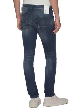 Back View - Click To Enlarge - DENHAM - 'Bolt Wlrock' skinny jeans