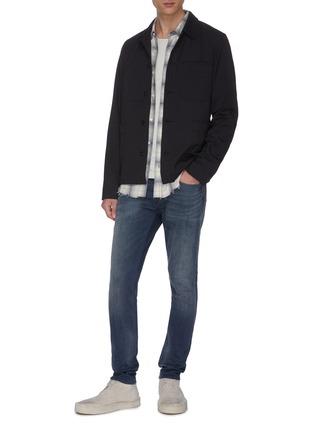 Figure View - Click To Enlarge - DENHAM - 'Bolt Wlrock' skinny jeans