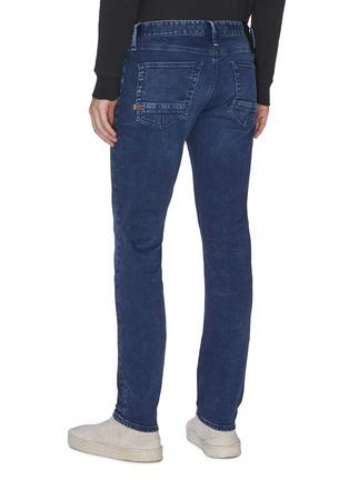Back View - Click To Enlarge - DENHAM - 'Razor' washed slim fit jeans