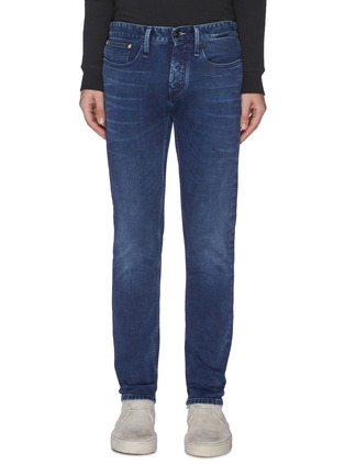 Main View - Click To Enlarge - DENHAM - 'Razor' washed slim fit jeans