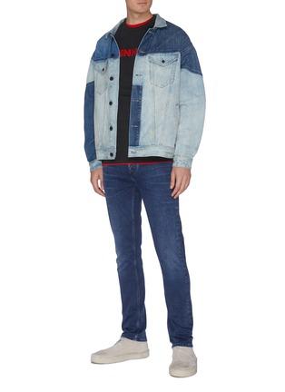 Figure View - Click To Enlarge - DENHAM - 'Razor' washed slim fit jeans