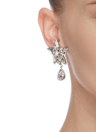 Figure View - Click To Enlarge - JENNIFER BEHR - Celina' crystal embellished earrings