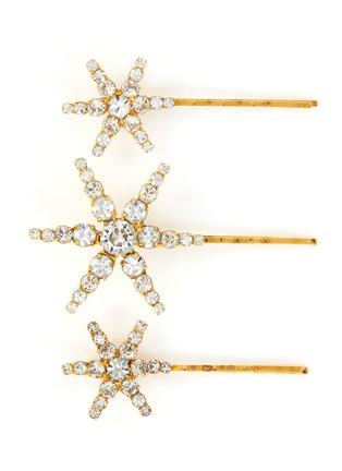 Main View - Click To Enlarge - JENNIFER BEHR - 'Aurelia' embellished star bobby pin set