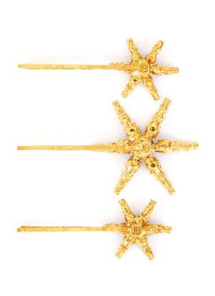 Figure View - Click To Enlarge - JENNIFER BEHR - 'Aurelia' embellished star bobby pin set