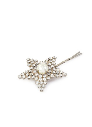 Detail View - Click To Enlarge - JENNIFER BEHR - 'Eilish' pearl embellished bobby pin