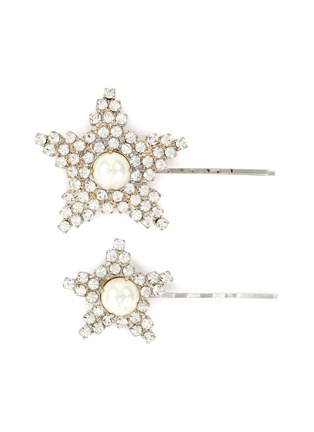 Main View - Click To Enlarge - JENNIFER BEHR - 'Eilish' pearl embellished bobby pin
