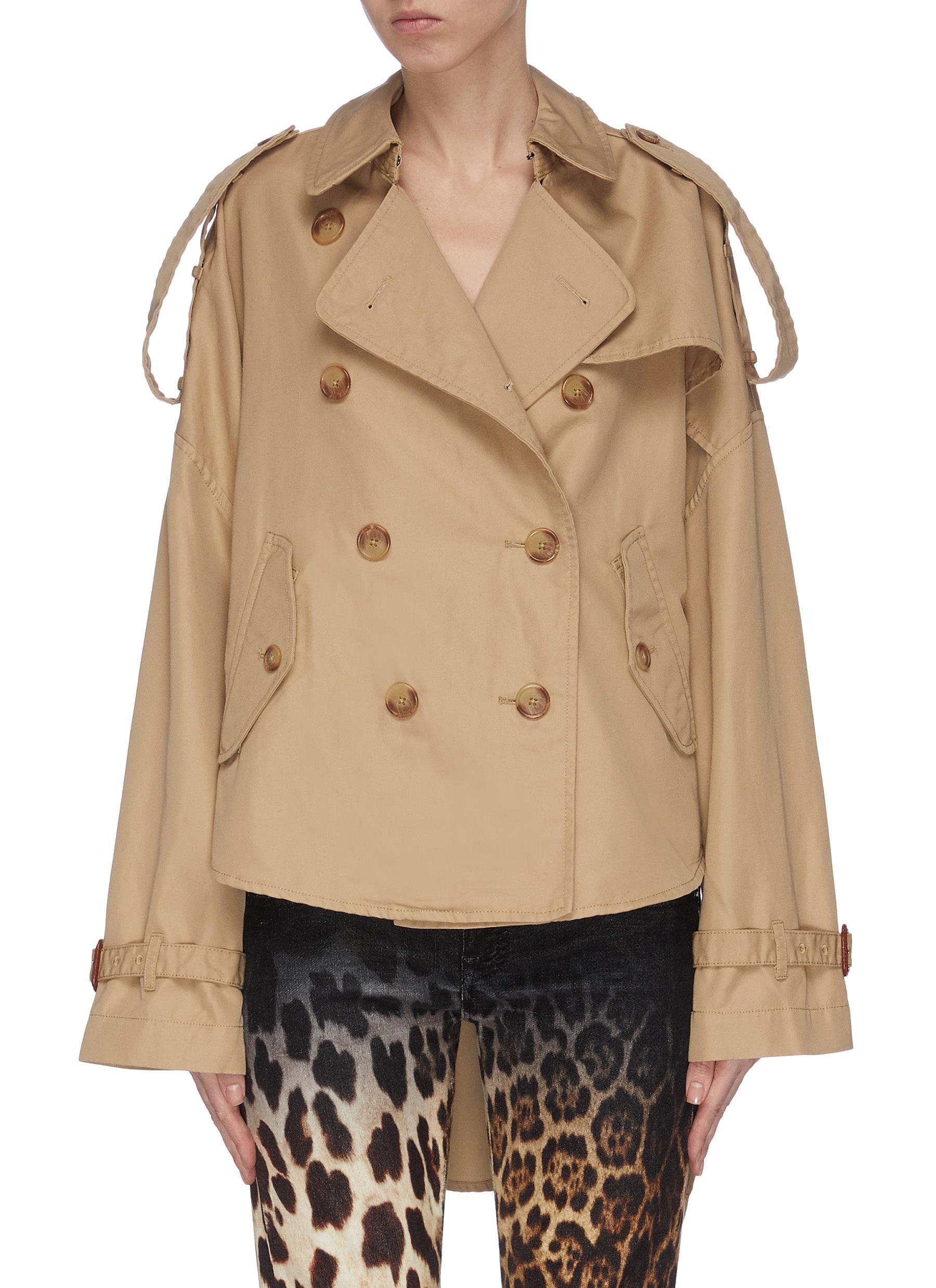 shop R13 Tuck-in trench jacket online