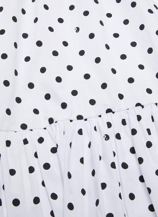 - STAUD - 'Orchid' Polka Dot Skirt