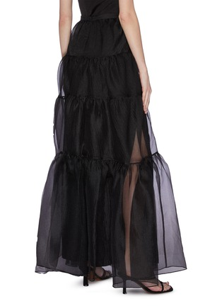 Back View - Click To Enlarge - STAUD - 'Dragon' Ruffle Tulle Skirt