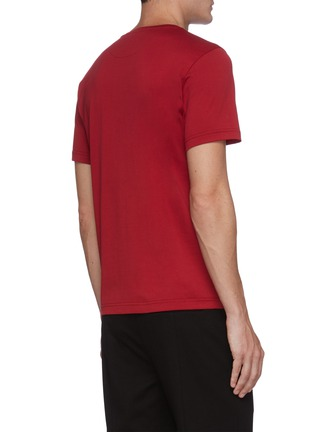 Back View - Click To Enlarge - FENDI SPORT - Logo print T-shirt