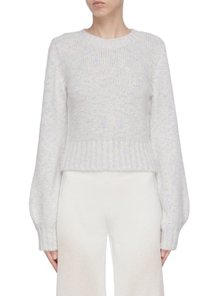 Main View - Click To Enlarge - STAUD - 'Inu' blouson sleeve sweater