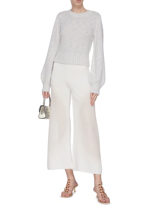 Figure View - Click To Enlarge - STAUD - 'Inu' blouson sleeve sweater