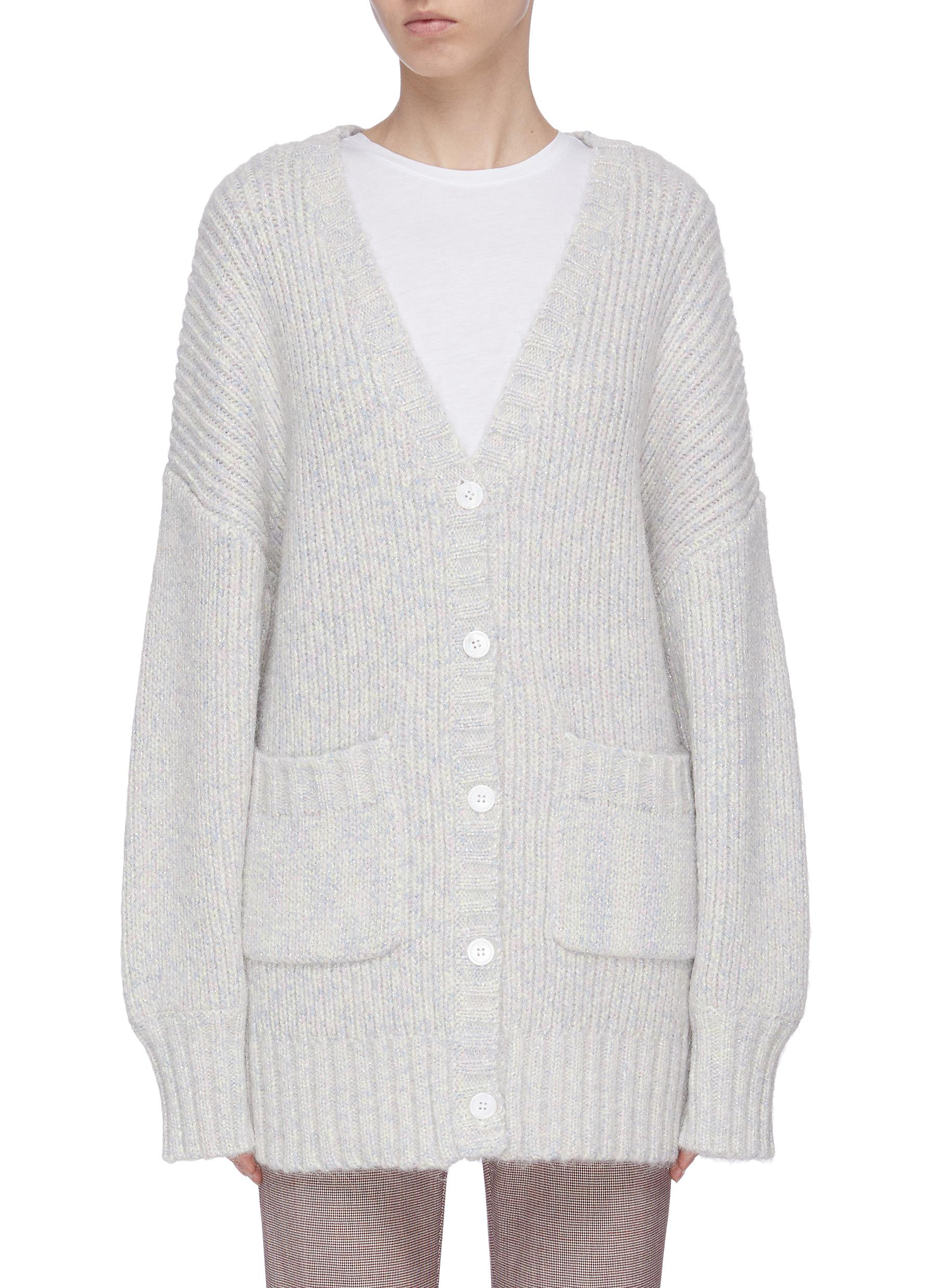 Buy Staud Knitwear 'Charlie' oversized cardigan