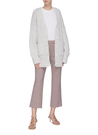 Figure View - Click To Enlarge - STAUD - 'Charlie' oversized cardigan