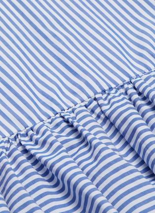 - STAUD - 'Orchid' stripe midi skirt