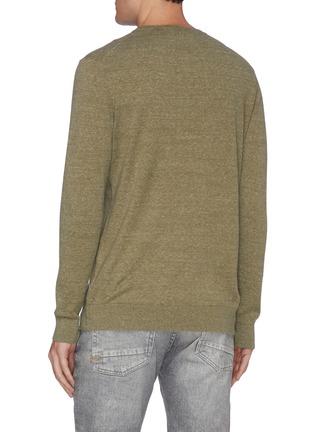 Back View - Click To Enlarge - DENHAM - 'Cadet' crewneck sweater
