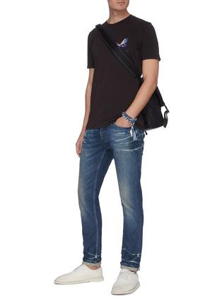 Figure View - Click To Enlarge - DENHAM - 'Razor GLSSS02' jeans
