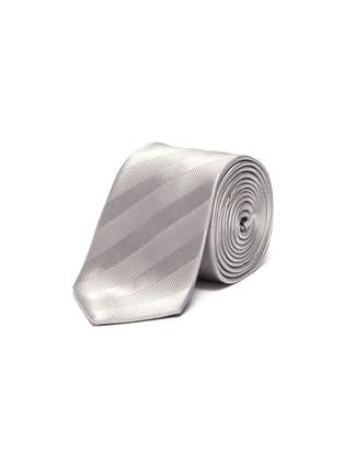 Figure View - Click To Enlarge - LANVIN - Stripe tie