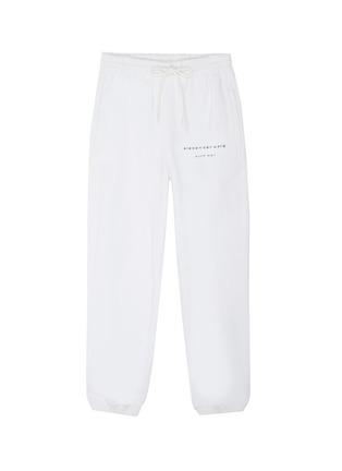 Main View - Click To Enlarge - ALEXANDER WANG - x Lane Crawford 'Bling' logo embellished unisex jogging pants