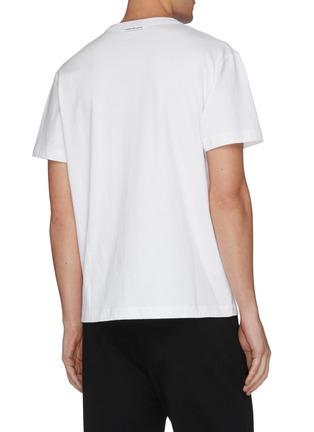 - ALEXANDER WANG - x Lane Crawford logo embellished unisex T-shirt