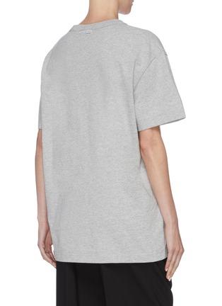 Back View - Click To Enlarge - ALEXANDER WANG - x Lane Crawford logo embellished unisex T-shirt