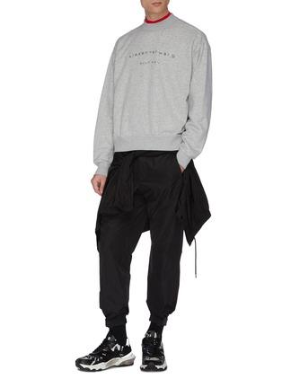 - ALEXANDER WANG - x Lane Crawford logo embellished unisex sweatshirt