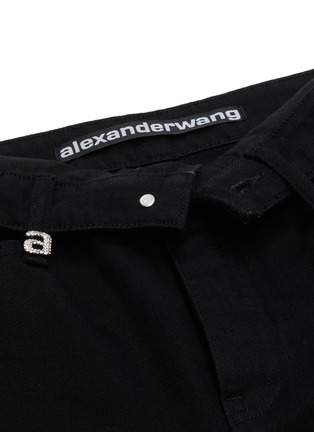 - ALEXANDER WANG - x Lane Crawford flip waist jeans