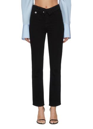 Main View - Click To Enlarge - ALEXANDER WANG - x Lane Crawford flip waist jeans