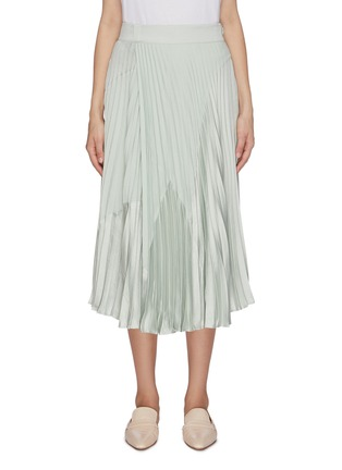 Main View - Click To Enlarge - VINCE - Pleated midi skirt