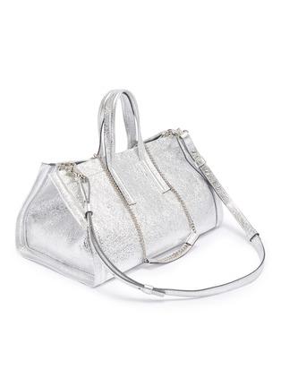 Detail View - Click To Enlarge - CHARLOTT VASBERG  - 'Night Prowler' metallic leather tote bag