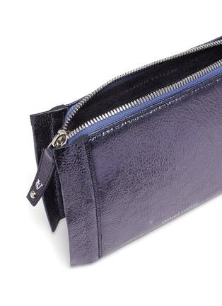 Detail View - Click To Enlarge - CHARLOTT VASBERG  - 'Night Crawler' metallic leather crossbody bag