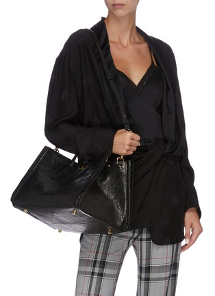 Figure View - Click To Enlarge - CHARLOTT VASBERG  - 'Night Prowler' patent leather tote bag