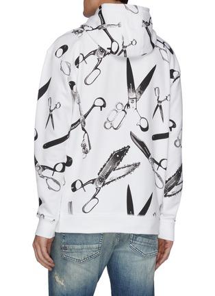 Back View - Click To Enlarge - DENHAM - x MEDICOM 'Accord' graphic print hoodie