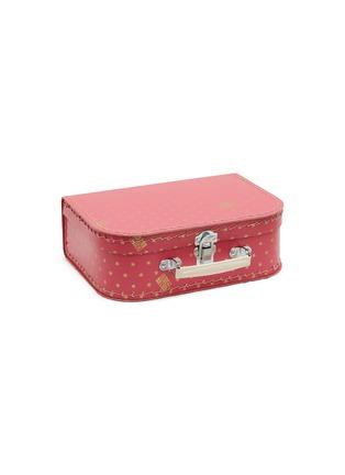 Main View - Click To Enlarge - BONTON - Star Print Kids Suitcase – Pink