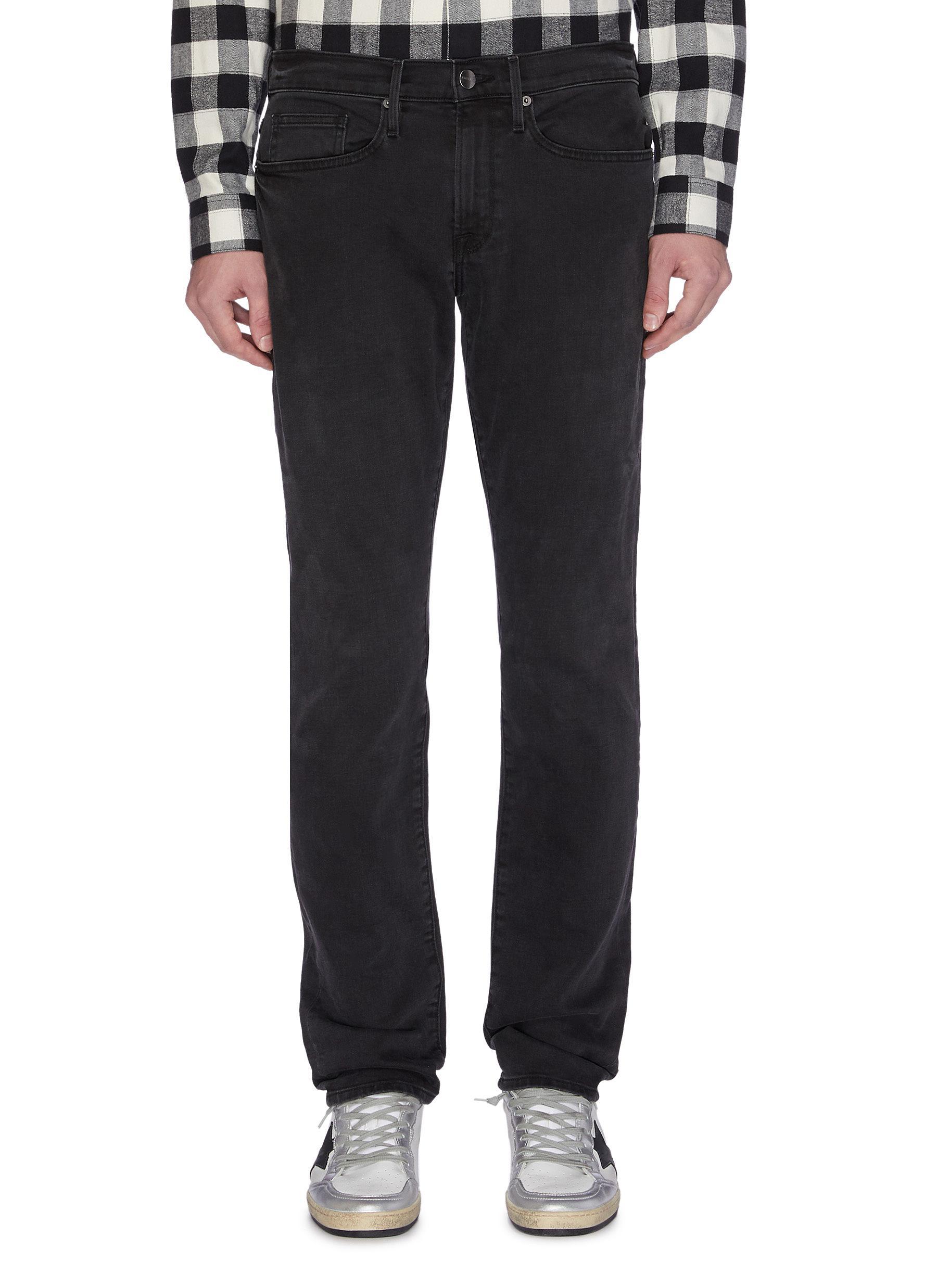 'L'homme Core' slim fit jeans