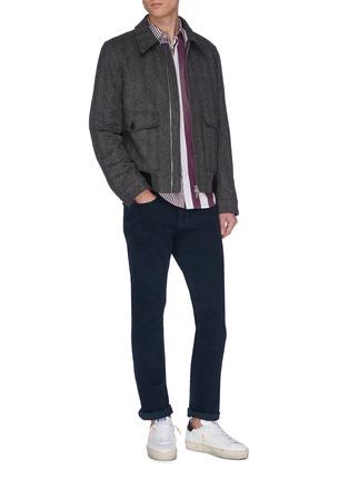 Figure View - Click To Enlarge - FRAME DENIM - 'L'homme Core' slim fit jeans
